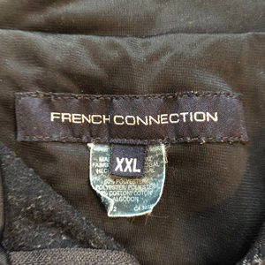 French Connection Jackets & Coats - 90s French Connection FCUK Zip Up Jacket Track Gym